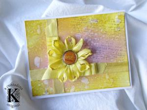 Traditionally Ribbonworked Daisy Video Tutorial