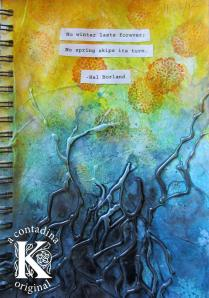 Techniques with Water Soluble Media for Faber-Castell Design Memory Craft