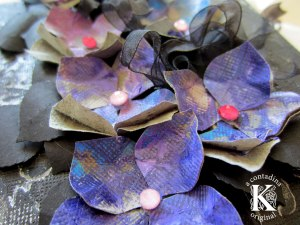 Hydrangeas with Papercrafter Crayons