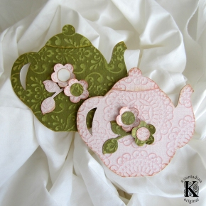 Teapot Cards – I Need to Make a Lot of These