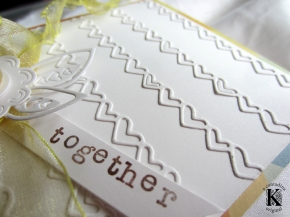 Intricate and Easy White on WhiteCard